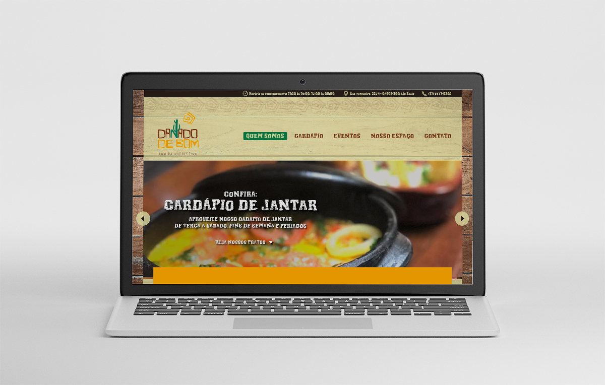 Isolated Laptop Mockup marketing digital, criação de sites, publicidade para pequenas empresas na zona leste na Mooca